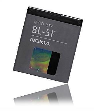Batterie d'origine Nokia BL-5F BL 5F NOKIA 6210 Navigator 6260 Slide 6290 6710 Navigator E65 N93i N95 N96