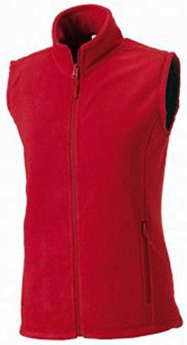 Jerzees - Manteau sans manche -  Femme Rouge - Classic Red