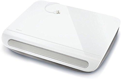 Philips Notebook-Kissen und Lautsprecher CushionSpeaker SDC 5100 (USB 2.0) weiß