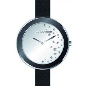 Ted Lapidus - A0594RBMN - Montre Femme - Quartz Analogique - Cadran - Bracelet Cuir Noir