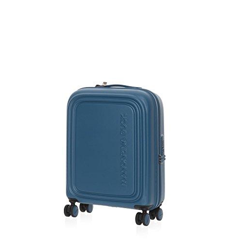 Mandarina Duck Logoduck+ Cabin Trolley Fjord Blue Bagaglio a Mano Blu SZV5422P