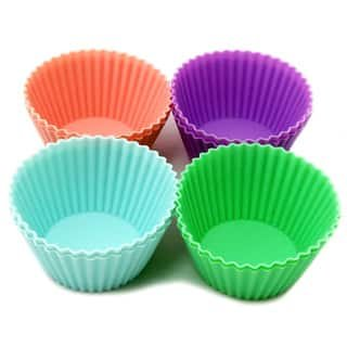 HPK Branded silicone muffin cupcake reusable microwave safe cups for Morphy Richards 25 L Convection Microwave Oven