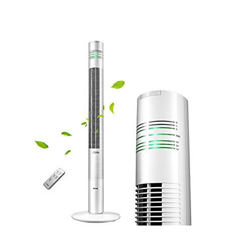 GIUKE Bodenstehende Bladeless Ruhe Mobiles klimagerät,Mini Portable Turmventilator Für Office,Wohnheim Mit entfeuchter und Ventilator Intelligente Luftkühler Ventilator-Weiß