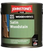 JOHNSTONES TRADE WOODSTAIN ACABADO SATINADO - 5L  EBANO SATINADO 5 LITROS
