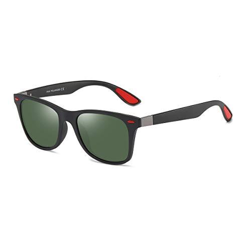 BLEVET Retro Vintage Polarizzati Occhiali da Sole Retro per Donna e Uomo Protezione UV BE007