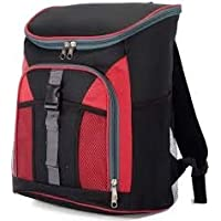 Vedder Cool Bag Cooler Backpack (Red/Black)
