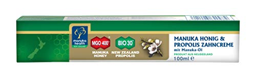 Manuka Health Zahncreme mit MGO 400+ Honig und Manuka Öl, 100 g