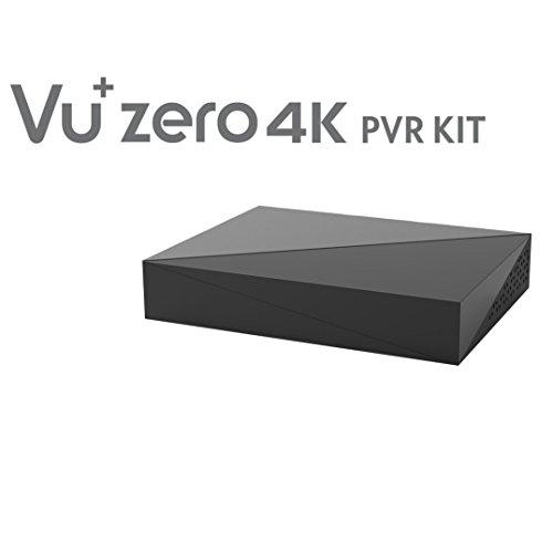 VU+ 620463 Zero 4K PVR Kit Inklusive HDD, 2TB, schwarz