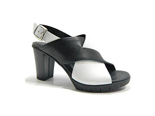 THE FLEXX scarpe donna sandali C611/03 YUMMY BIANCO/NERO Bianco