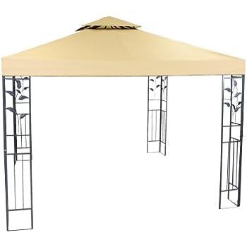 Amazon.de: greemotion Pavillon Livorno beige, Partyzelt