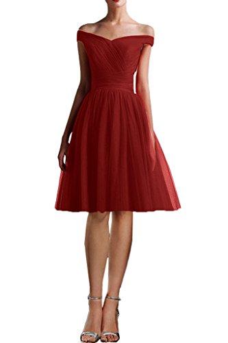 Ivydressing Damen Liebling A-Linie Kurz Promkleid Festkleid Brautjungfernkleid Abendkleid L Kurz