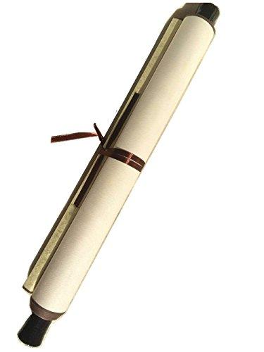 Papel de arroz chino Xuan papel pergamino en blanco para la pintura mí Amarillo claro