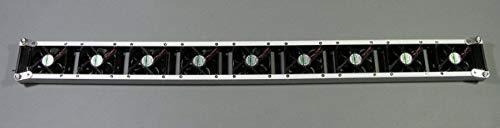 Heizkörperverstärker Goliat Heizkörper-Ventilator mit 9 ECO-Lüftern 1m breit Heizkörper Verstärker