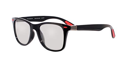 rainbow safety Herren Damen Selbsttönende Sonnenbrille Auto Brille Photochromatische Polarisierte Gläser RWNP7