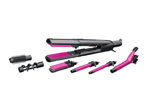 multi-styler - 31lv88OBXfL - Ceramic coated 12 in 1 Hair Multi-Styler With Ultra-Fast Heat Recovery