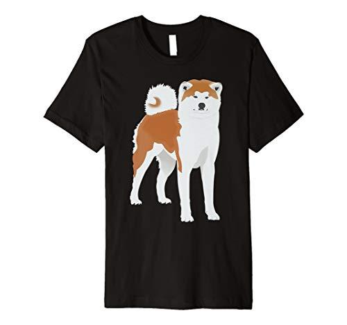 Akita-damen T-shirt (Akita Inu Tshirt Hund Shiba Inu Damen Herren Kinder)