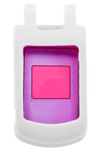 Schutzhülle für Motorola W755, weich, Weiß