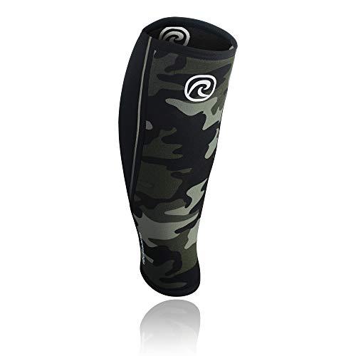 Rehband Rx Shin und Calf Sleeve Wadenbandage, Camo/Schwarz, S