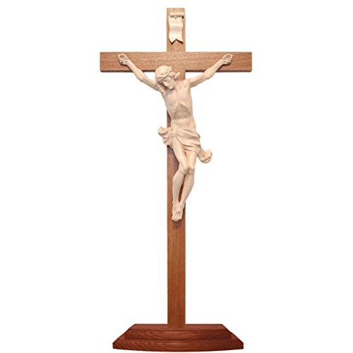Holyart Kruzifix Corpus Grödnertal Wachsholz, 42 cm (16.54 inc.)
