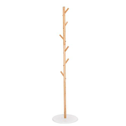 SKC Lighting-Porte-manteau Vêtement en bois en bois de style européen Étagère Chambre à coucher Coin pendentif Porte Hall Entrée Arbre Porte-vêtements