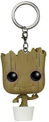 Funko 6715-PDQ Schlüsselanhänger Figur Marvel Guardians O/T Galaxy: Baby Groot, unisex-child