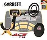 Garrett - Ace 250 Metal Detector - Comes with coil protector.