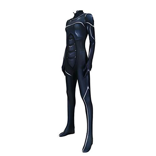d Erwachsener Cosplay Kostüm Superhelden Halloween Mottoparty Onesies 3D Druck Strumpfhosen,Women-XXL ()