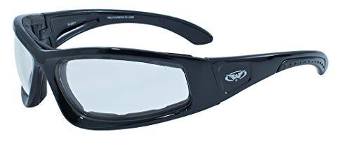 Global Vision Eyewear Schwarz Rahmen triumphierend Sicherheit Gläser, farblos
