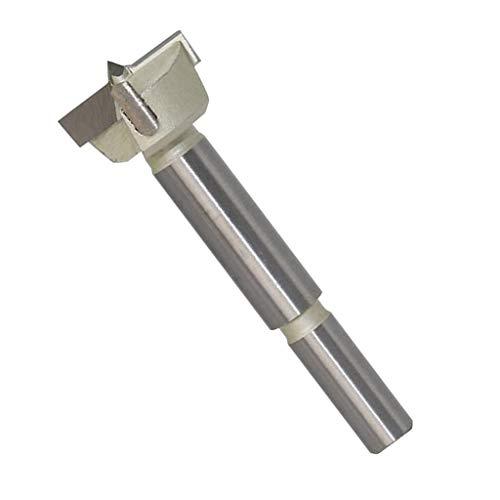 KESOTO Forstnerbohrer Holzbohrer aus Hartmetall 15-60mm Durchmesser, 10mm Schaft - 30 mm