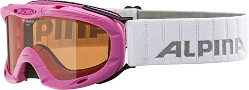 Alpina Kinder Skibrille Ruby S Rahmenfarbe: Rose One Size