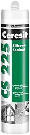 HENKEL-Ceresit Cs225 Silikon Mastik Beyaz/ 280 Gr