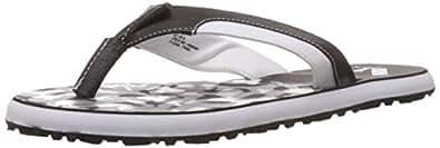 Puma Men's Wrens DP Black-Steel Grey-White Hawaii Thong Sandals - 8 UK/India (42 EU)