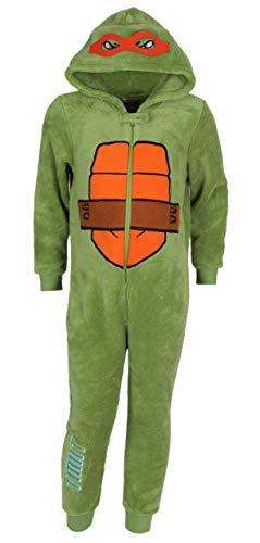 Nickelodeon - Teenage Mutant Ninja Turtles Einteiliges TMNT-Pyjama 5-6 Jahre 116 cm