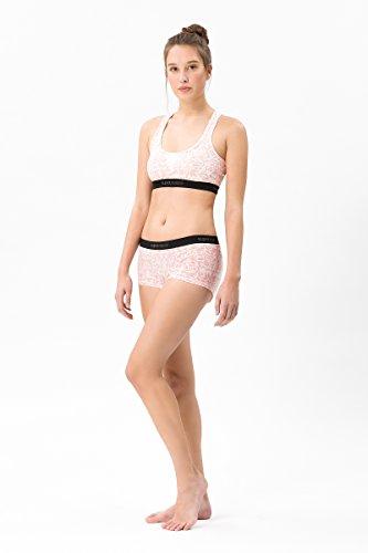 super.natural Körpernahe Damen Unterhose, Mit Merinowolle, W BASE BOYFRIEND HIPSTER 175, M, Weiß