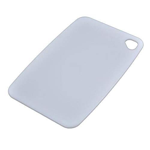 RNGNB Schneidebrett Kunststoff, Aufhängbar Hackklötze Anti Bacterium Hackbrett Metzger Block Food Slice Cut PP Küchenbrett Cutting Board -