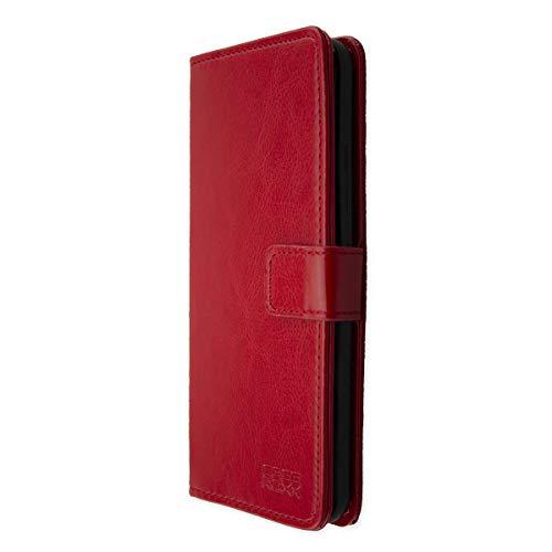 caseroxx Tasche Case Hülle Bookstyle-Case für Gigaset GS370 / GS370 Plus in rot