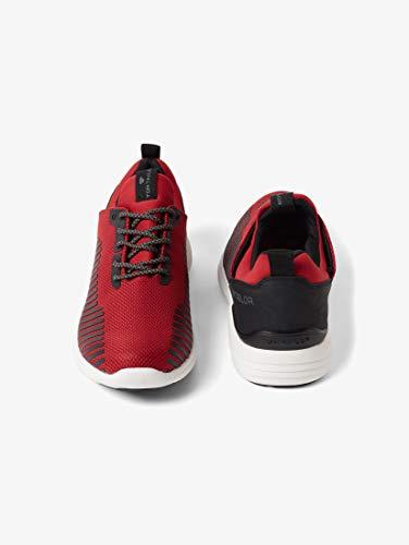 TOM TAILOR für Männer Schuhe Sportliche Sneaker red, 43 - Tom Männer Rot Schuhe