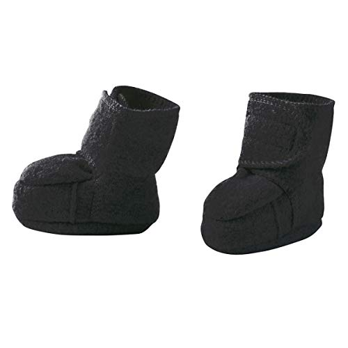 Disana Walk-Schuhe aus 100% Merino-Schurwolle (02 (8-12 Mon.), anthrazit)