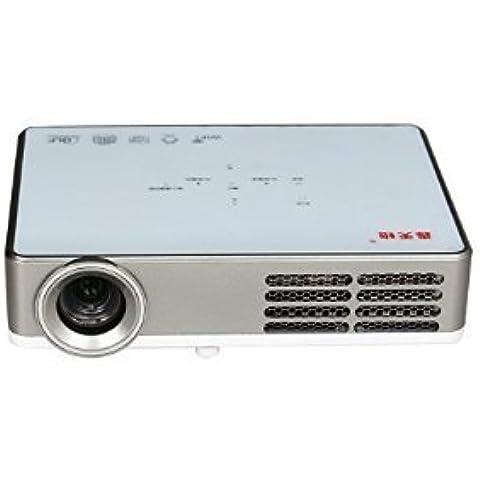 HTP DLP-300W, Wi-Fi, Android 4,2 1280 *800 px, Mini portátil faro Home Cinema 3D Full HD con convertidor