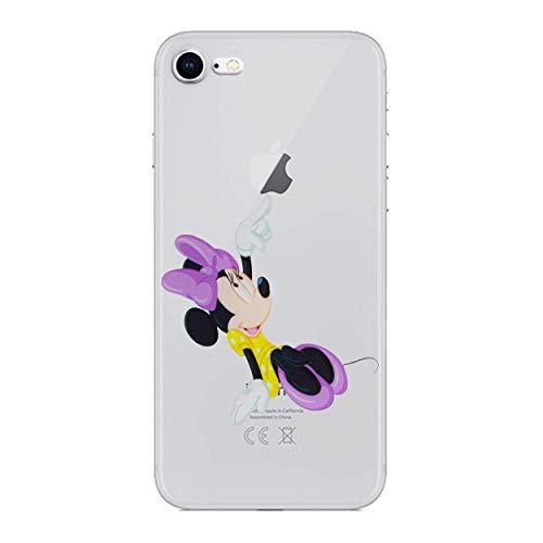 ilikonhülle / Gel Hülle für Apple iPhone 7 / Schirm-Schutz und Tuch / iCHOOSE / Minnie Maus ()