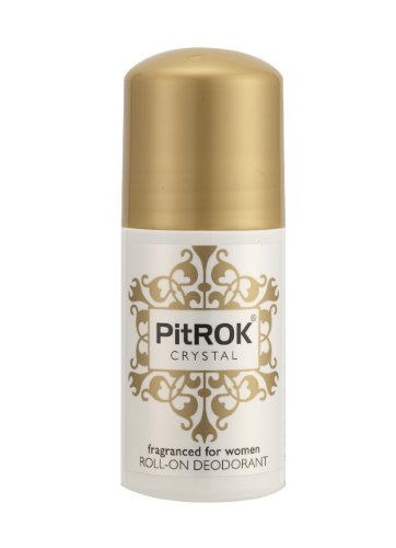 PitROK Crystal Roll-On Deodorant for Women, 50 ml