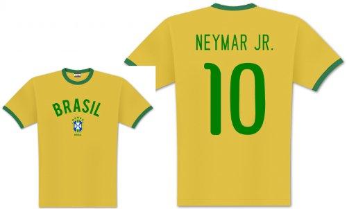 World of Football Player Shirt Brasilien Neymar - L -
