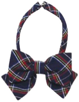 50-check-ribbon-tie-aset-blue-check-red-check-japan-import