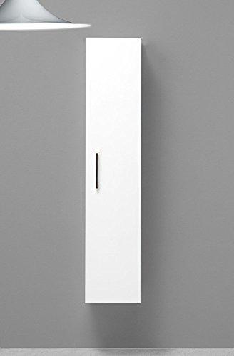 Colonna bagno sospesa boston laccata bianco lucido