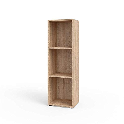 Vicco Bücherregal Sonoma Eiche Regal Holzregal Schrank Wandregal Büroregal Aktenregal