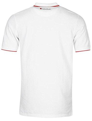 RFU Herren Poloshirt Weiß