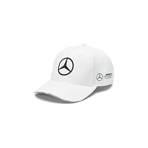 Mercedes-AMG Petronas Motorsport 2019 F1TM Gorra del Equipo Blanco
