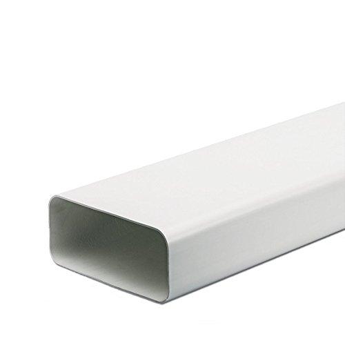 Kanalverbinder 125er SCF oval Flachkanal Verbindung Softkanal CompairFlow