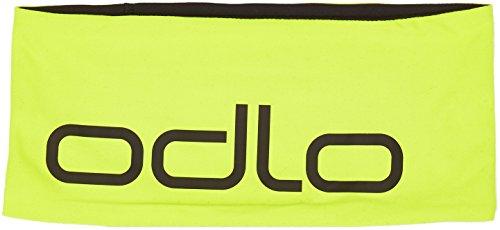 Odlo Headband Reversible Stirnband, Acid Lime - Black - Reversible Stirnband