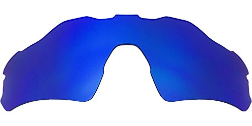 Ersatz-Objektive für Oakley Radar EV Path Asian Fit Sonnenbrille, Blue Mirror